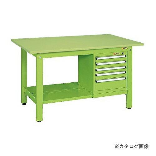 【直送品】サカエ SAKAE 軽量作業台KKタイプ スモールキャビネット付 KK-59SSL5
