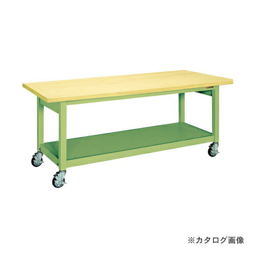 【直送品】サカエ SAKAE 重量作業台KWBタイプ移動式 KWBG-158