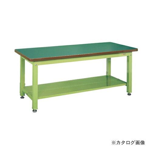 【直送品】サカエ SAKAE 重量作業台KWタイプ中板2枚付 KWF-188T1