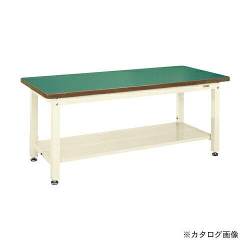 【直送品】サカエ SAKAE 重量作業台KWタイプ中板2枚付 KWF-188T1I