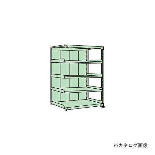 【運賃見積り】【直送品】サカエ SAKAE 中量棚PB型パネル付 PB-1155R