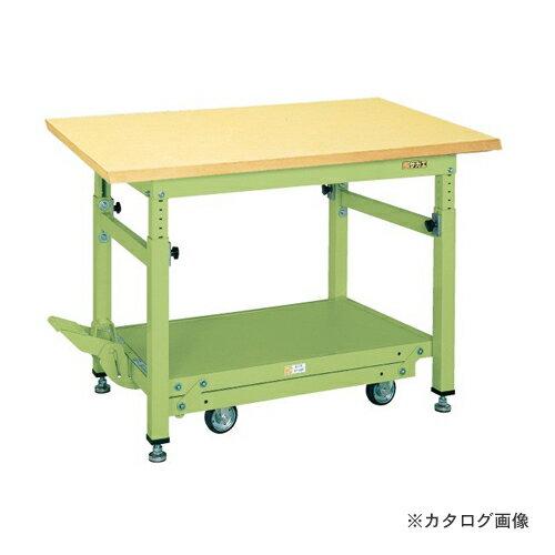 【直送品】サカエ SAKAE ペダル昇降移動式作業台・重量TKWタイプ TKW-188GD