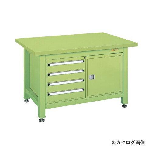 【直送品】サカエ SAKAE 超重量作業台Wタイプ WS-240B