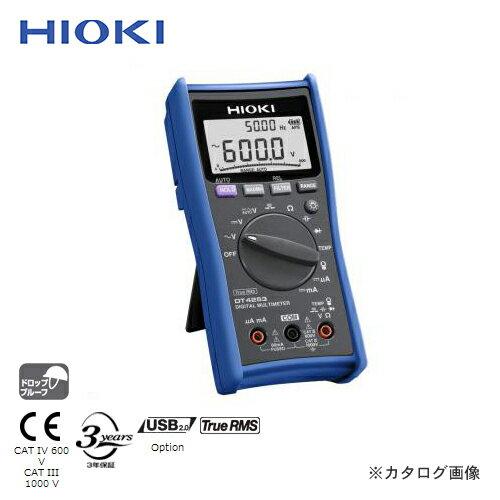 日置電機 HIOKI デジタルマルチメータ スタンダード DT4253