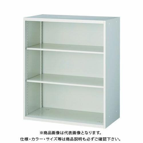 個別送料2000円 直送品 TRUSCO U型壁面書庫 スライドボード用オープン H1050 ホワイト UOSW-11