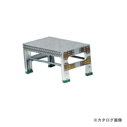 個別送料1000円 直送品 ナカオ G型作業用踏台0.3m G-031