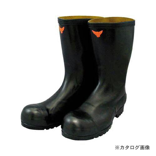 愛用 SHIBATA 安全耐油長靴(黒) SB021-25.5