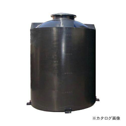 運賃見積り 直送品 スイコー LAタンク15000L (黒) LA-15000(BK)