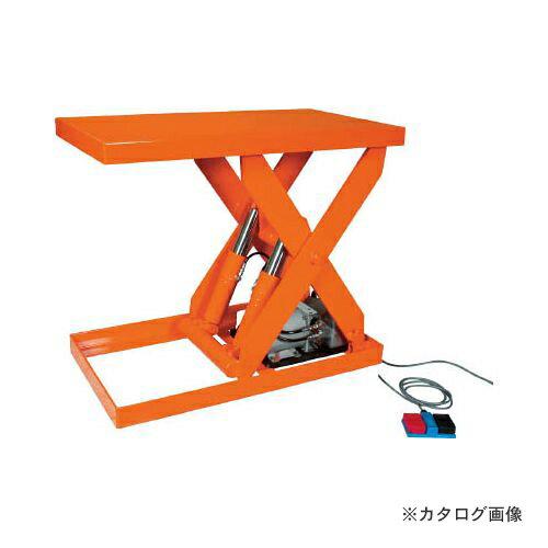 運賃見積り 直送品 TRUSCO テーブルリフト500kg 油圧式 800X900 HDL-50-0809
