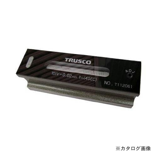 TRUSCO 平形精密水準器 B級 寸法200 感度0.05 TFL-B2005