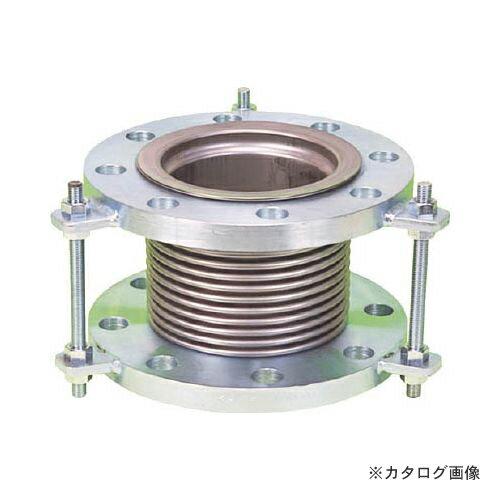 運賃見積り 直送品 NFK 排気ライン用伸縮管継手 5KフランジSS400 300AX200L NK7300-300-200