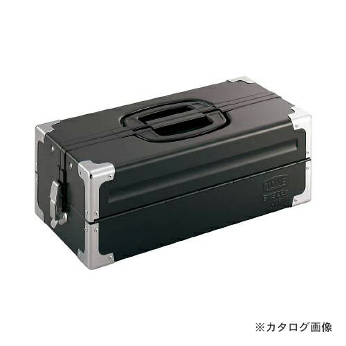 TONE ツールケース(メタル) V形2段式 マットブラック BX322SBK
