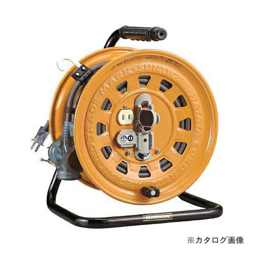 ハタヤ 逆配電型コードリール マルチテモートリール 単相100V 27+6m TGM-130