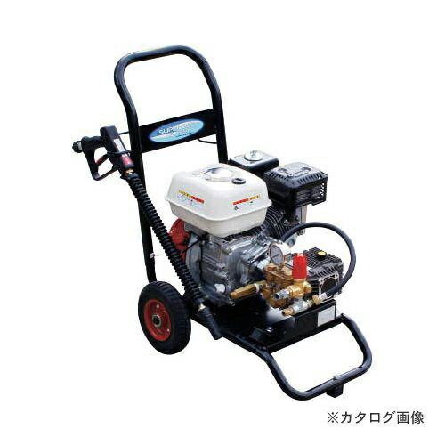 運賃見積り 直送品 スーパー工業 エンジン式高圧洗浄機SEC-1315-2(コンパクト&カート型) SEC-1315-2
