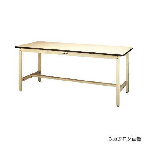 運賃見積り 直送品 ヤマテック ワークテーブル300シリーズ リノリューム天板W900×D750 SWR-975-II