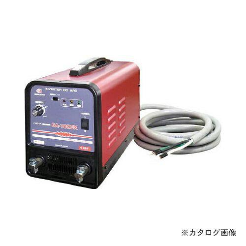運賃見積り 直送品 スワロー 電機 インバーター直流溶接機 単相200V SA-180DX