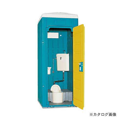 運賃見積り 直送品 日野 水洗式トイレ和式 イエロー GX-AS-Y