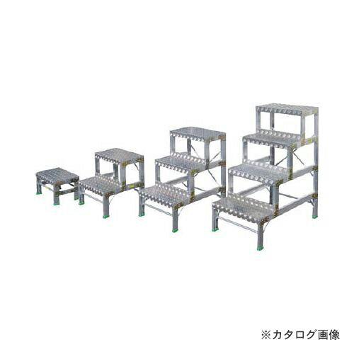 個別送料1000円 直送品 ナカオ G型作業用踏台0.5m G-051