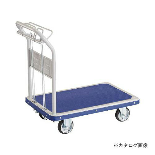 運賃見積り 直送品 TRUSCO ドンキーカート 固定 810×510 ハンド式 ピン式2輪S付 202NKHBS