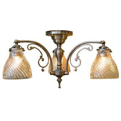 サンヨウ アンティーク照明 3灯シーリングランプ CP1203A 317