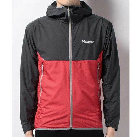 マーモット(Marmot) TRANS BREATH JACKET メンズ ウインドジャケット MJJ-S7008 SCDC スカーレット ダークチャコール (Men's)