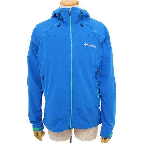 コロンビア(Columbia) タイムトゥートレイルジャケット Time To Trail Jacket ソフトシェル PM3902 438 Super Blue (Men's)