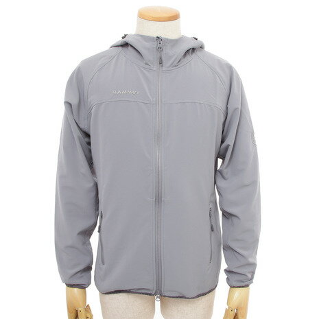 マムート(MAMMUT) SOFTECH GRANITE HOODED JACKET WOMEN 1010-25450 0818 granit ウィメンズ ジャケット (Lady's)