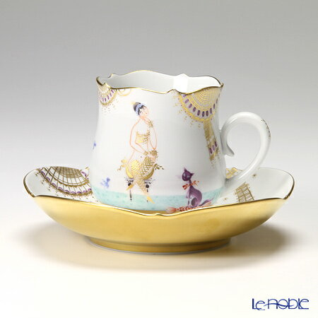 マイセン (Meissen) アラビアンナイト 680710/23582 コーヒーカップ&ソーサー 150cc Motiv No.1【楽ギフ_包装選択】【楽ギフ_のし宛書】 ティーカップ 食器