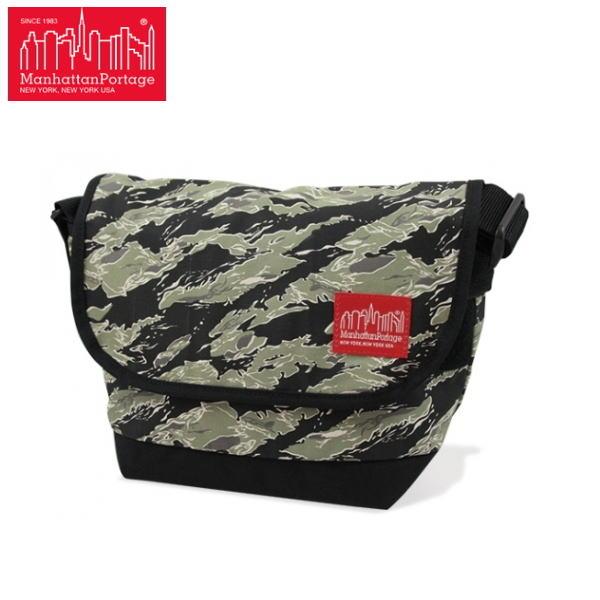 マンハッタンポーテージ 限定 メッセンジャー バッグ Manhattan Portage Tiger Stripe Camo Casual Messenger Bag 1605JRTSCバッグ かばん 鞄【OJOJ-08lrc】●【あす楽対応】
