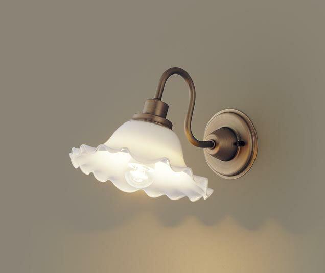 パナソニック壁直付型 LED(電球色) ブラケット シリンダータイプ 白熱電球25形1灯器具相当 ランプ付き