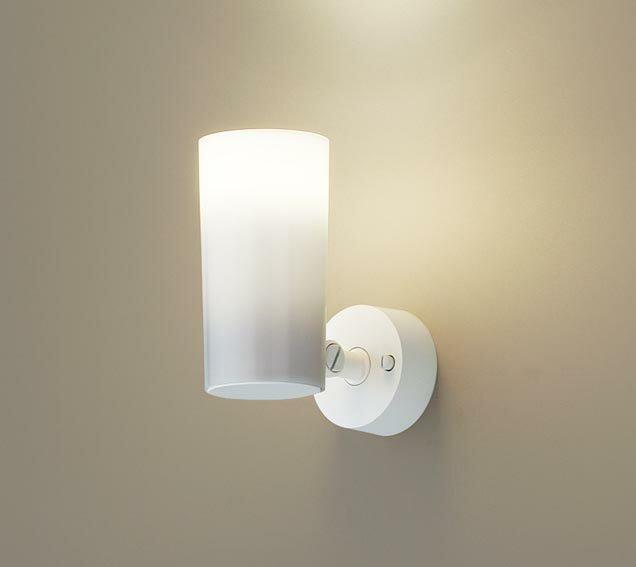 パナソニック天井直付型・壁直付型・据置取付型 LED(電球色) スポットライト ポリカーボネートセードタイプ 白熱電球30形1灯器具相当 ランプ付き