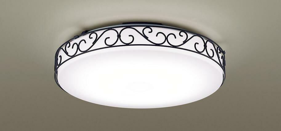 パナソニック天井直付型 LED(昼光色・電球色) シーリングライト リモコン調光・リモコン調色 ~10畳