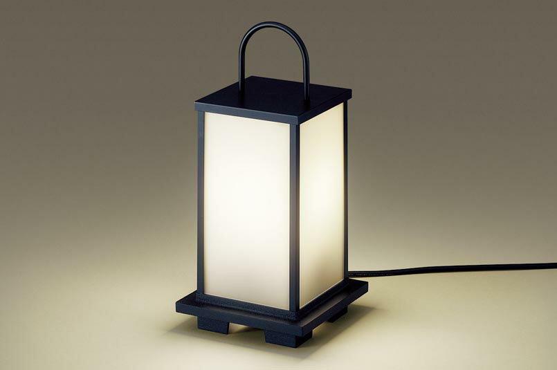 パナソニック据置取�型 LED(電球色) ガーデンライト �雨型 白熱電球40形1灯器具相当 ランプ�き