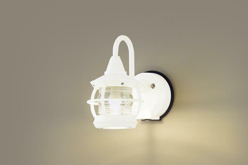 パナソニック壁直�型 LED(電球色) ポーチライト 密閉型 �雨型・FreePaお出迎え・�るさセンサ�・点灯省エネ型 白熱電球40形1灯器具相当 ランプ�き