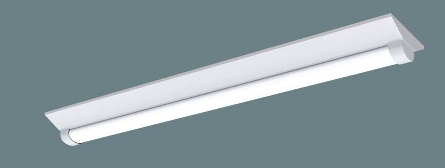 パナソニック天井直�型 40形 一体型LEDベースライト �湿型・�雨型 Dスタイル 富士型 Hf蛍光灯32形�出力型1灯器具相当 Hf32形�出力型・3200 lm