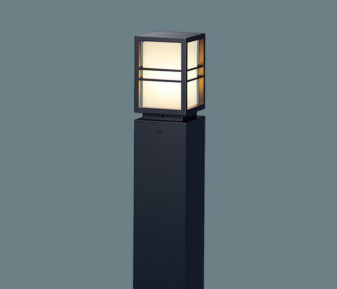 パナソニック埋込式 LED(電球色) ローポールライト �雨型 地上�405mm ランプ別売(E17口金)器具のみ