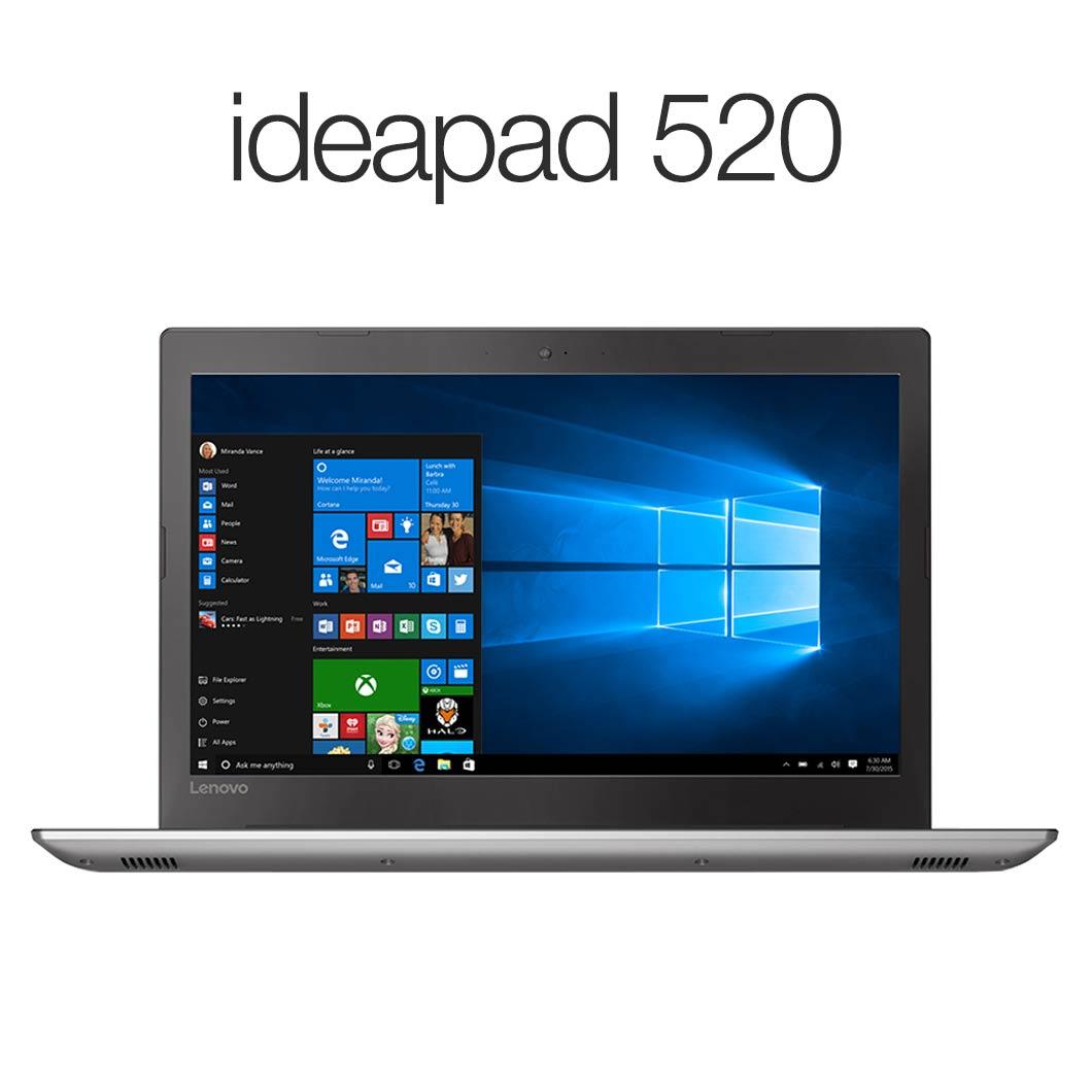 【Windows10 Home搭載】ideapad 520:Corei5プロセッサー搭載モデル(15.6型 FHD/8GBメモリー/256GB SSD/Windows10/Officeなし/アイアングレー)【レノボ直販ノートパソコン】【受注生産モデル】【送料無料】