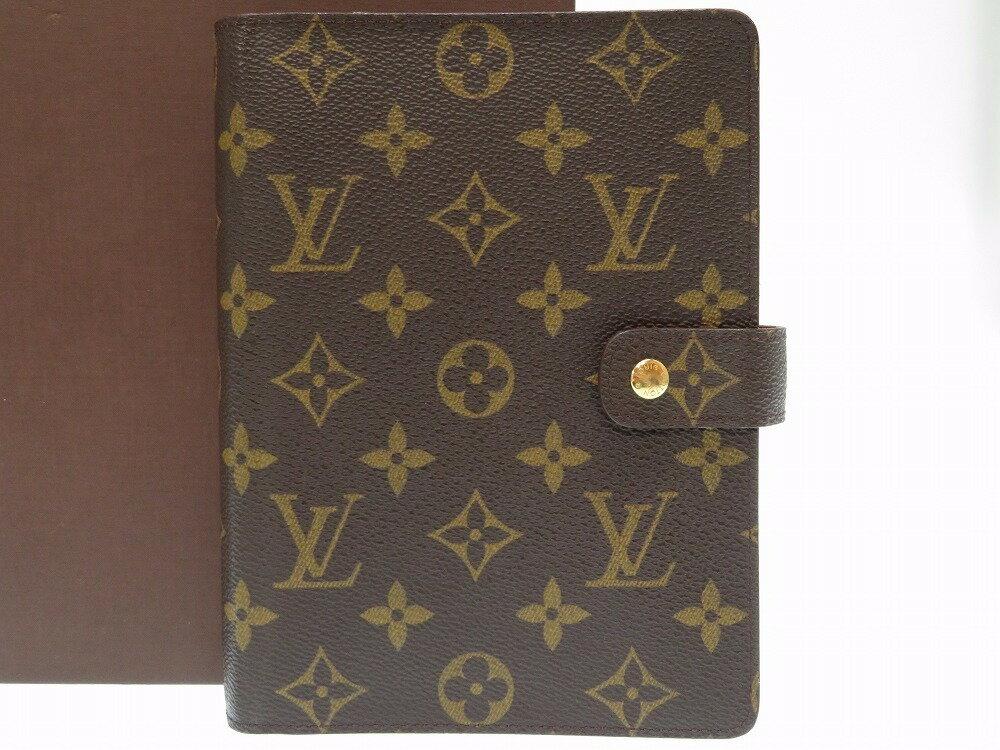 ルイヴィトン アジェンダMM R20106 手帳カバー モノグラム 手帳 LV 0180 【中古】 LOUIS VUITTON