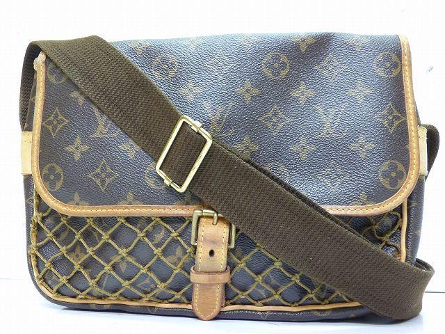 みんなの大好きな Eルイヴィトン モノグラム コンゴPMショルダーバッグ 鞄 0060【中古】 M40117 Louis Vuitton