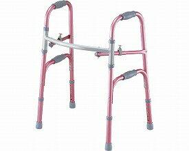 セーフティーアーム 固定式 / SAR-P ピンク イーストアイ 固定型歩行器(介護用品 歩行器 介護 高齢者 歩行器 シルバー)
