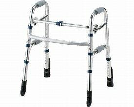 固定型歩行器 セーフティーアームウォーカー Cタイプ / SAWCSR シルバー ミニタイプ  イーストアイ(介護用品 歩行器 介護 高齢者 歩行器 シルバー)