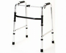 歩行器 標準タイプ 固定型 / HK-100  マイライフテック 固定型歩行器(介護用品 歩行器 介護 高齢者 歩行器 シルバー)