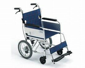 車椅子 軽量 アルミ介助車いす MC-43K SP   ミキ(車椅子 車いす 車イス)