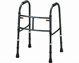 Mgウォーカー II型 固定型歩行器 田辺プレス (介護用品 歩行器 介護 高齢者 歩行器 シルバー)