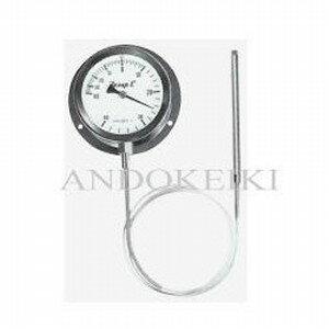安藤計器 蒸気圧式 隔測温度計 (100Φ 投込み式) A-100-080-100