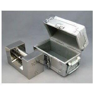 村上衡器 ステンレス製 まくら型分銅(ケース付)+JCSS質量校正 M1級+ランク5 10kg