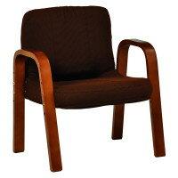 【送料無料】ギア付き座椅子 2台セット ちょっと座りに便利な楽々椅子 肘付き チェアー