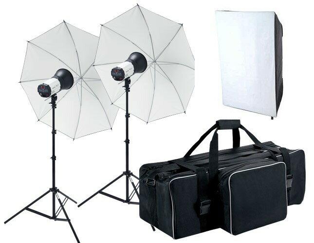 ライトグラフィカ ヘアサロン撮影キット ストロボ2灯セット
