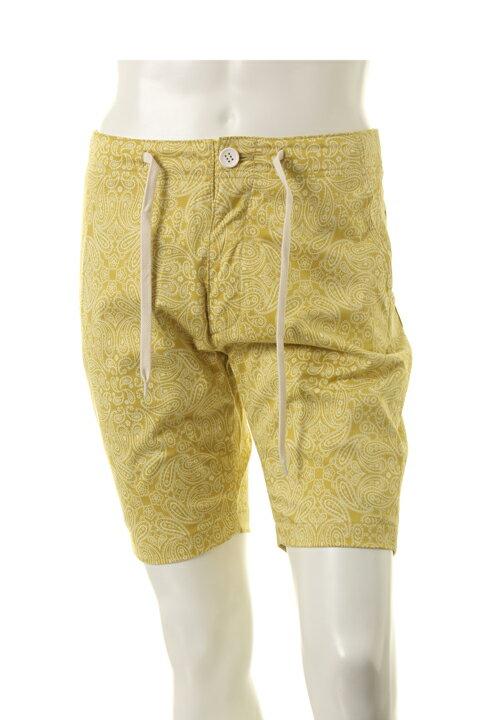 AKM エーケーエム paisley shorts pants{-ADS}{EGS60}