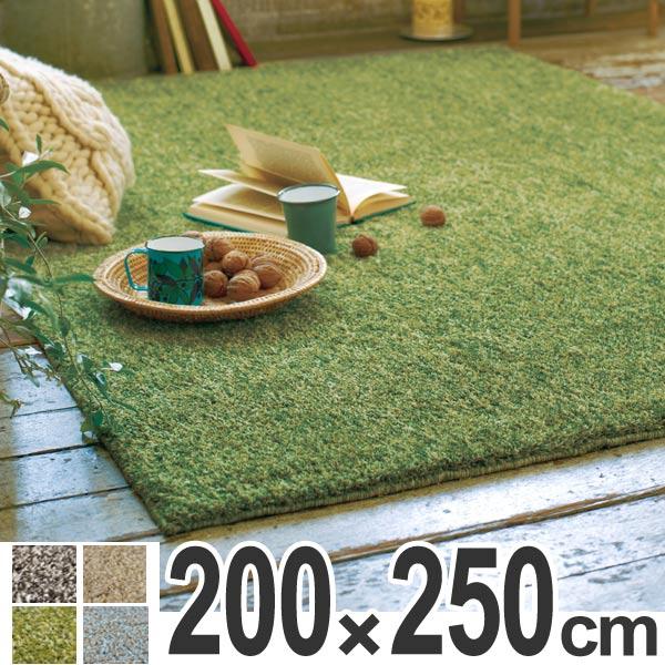 ファション ラグ シャギーラグ ムック 200×250cm ( 送料無料 ラグマット シャギー 洗える 北欧 カーペット 絨毯 じゅうたん ホットカーペット対応 おしゃれ ふわふわ 速乾性 吸収性 )